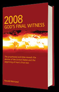 2008- God's Final Witness Book Image